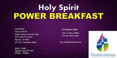 Holy Spirit POWER Breakfast tickets