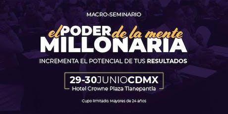 El Poder de la Mente Millonaria (Ciudad de México) entradas