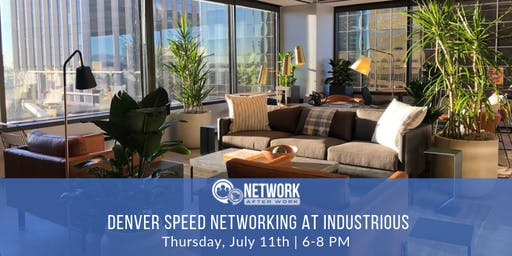 Pro Speed Networking by Network After Work Denver