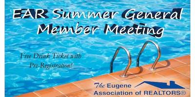 EAR Summer General Membership Meeting