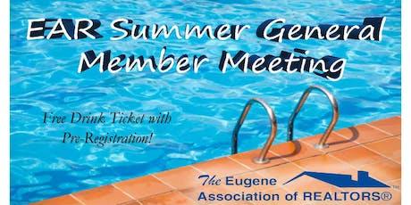 EAR Summer General Membership Meeting tickets
