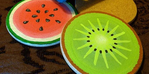 Creative Family Workshop: Summer Fruit Coasters