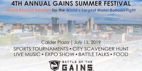 4th Annual Gains Summer Festival tickets