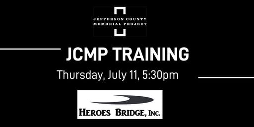 JCMP Training and Discussion