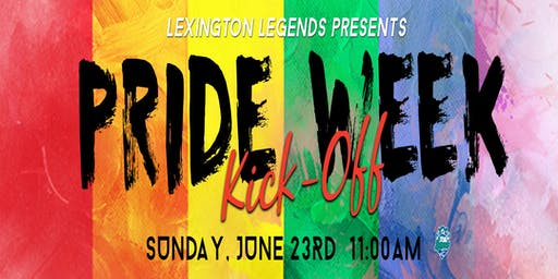 Pride Week Kickoff with the Lexington Legends