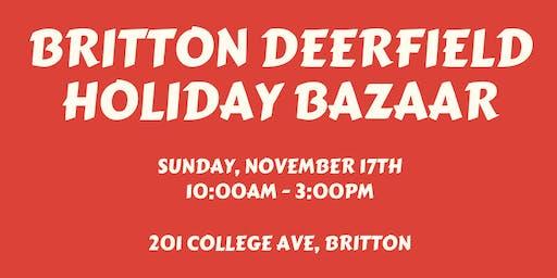Britton Deerfield Holiday Bazaar