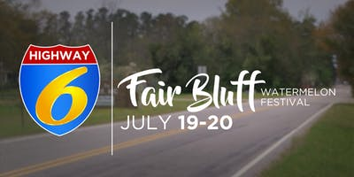Highway 6 at the Fair Bluff Watermelon Festival
