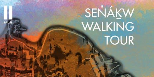 Sen̓áḵw Walking Tour