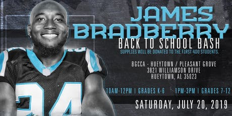 James Bradberry's Back to School Bash tickets
