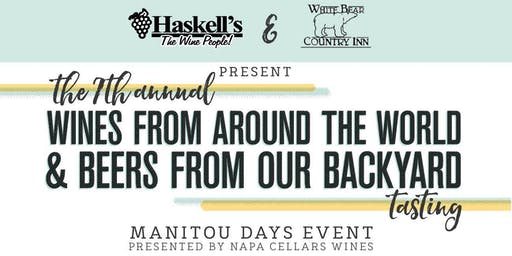 7th Annual Manitou Days Wine & Beer Tasting
