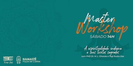 Namastê Poços de Caldas 2019 - Master Workshop - Sábado 14h ingressos