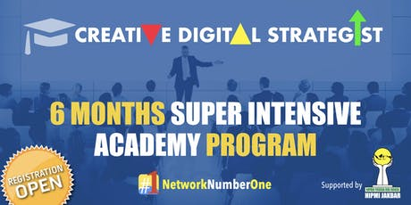 Creative Digital Strategist 6 Months Academy Program Open Registration tickets