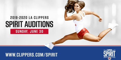 Clippers Spirit Open Call Auditions