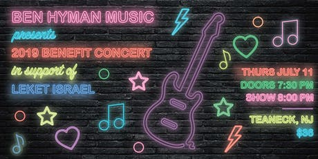 Ben Hyman Music Presents: Concert with BUCKETLIST supporting Leket Israel tickets