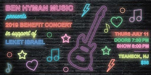Ben Hyman Music Presents: Concert with BUCKETLIST supporting Leket Israel