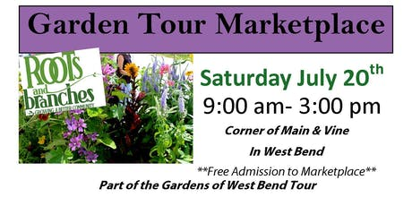 Garden Tour Marketplace tickets