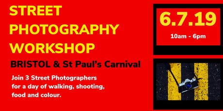 Street Photography Workshop - Bristol & St Paul's Carnival  tickets