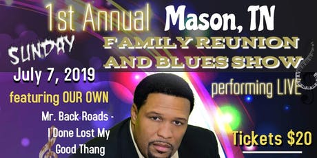 1st Annual Family Reunion & Blues Show (Terry Wright & Friends - LIVE) tickets