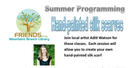 Hand-Painted Silk Scarves tickets