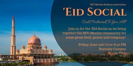 SFU MSA Eid Social 2019