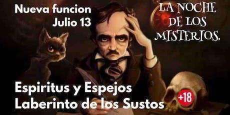 La Noche de los misterios (JULIO) tickets
