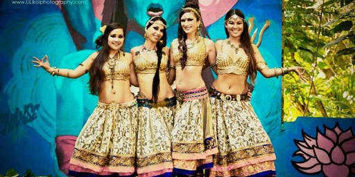 Indian Fusion Bellydance Performance series with Kalae Kaina