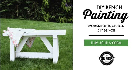 The Foundry - Bench Painting Workshop tickets