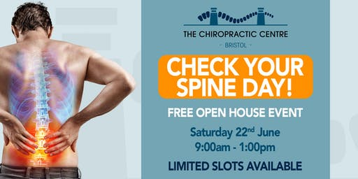 FREE Spine & Posture Check