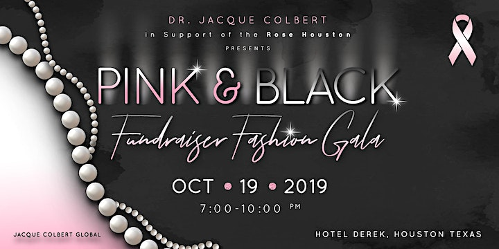 Pink & Black- A Breast Cancer Fundraising Fashion Gala image