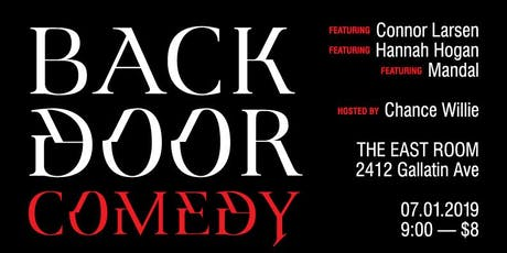 Backdoor Comedy at The East Room tickets
