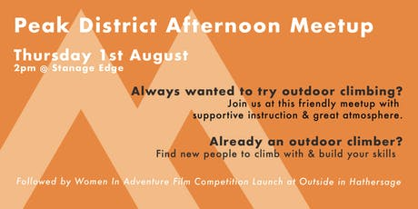 Womenclimb Peak District Afternoon Meetup tickets