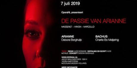 De passie van Arianne première tickets