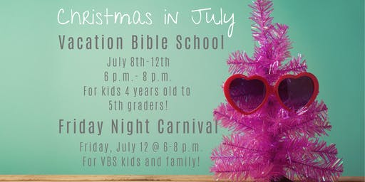 Christmas in July VBS 2019