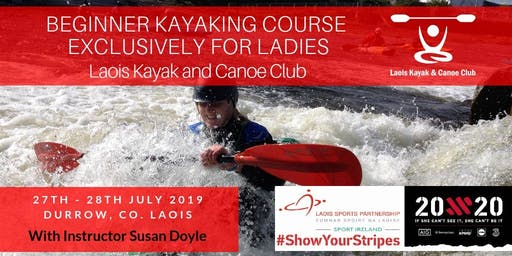 Beginners Kayaking Course Exclusively for Ladies