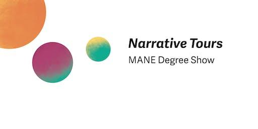 Narrative Tours - MANE Degree Show