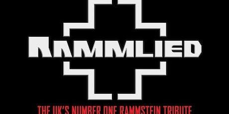 Rammstein tribute Rammlied tickets