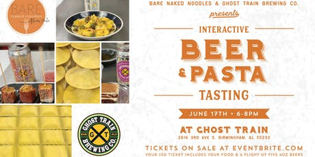 Ghost Train and Bare Naked Noodles Tasting tickets