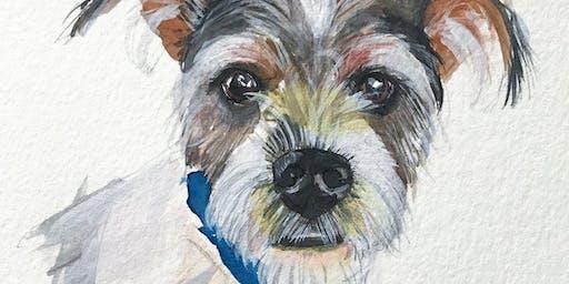 Makers Workshop: Watercolor Pet Portraits