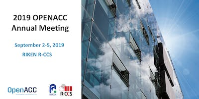 2019 OpenACC  Annual Meeting