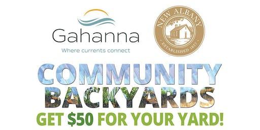 Gahanna/New Albany Community Backyards