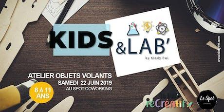 Kids & Lab', le rendez-vous fun et créatif  billets
