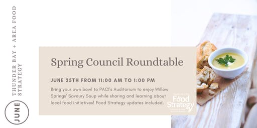 Food Strategy Spring Council Roundtable