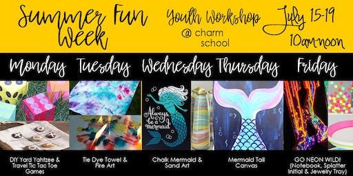 7.15-7.19 - Summer Fun Week - 10AM-Noon
