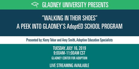 """""""Walking in Their Shoes"""":  A Peek into Gladney's AdoptED School Program tickets"""