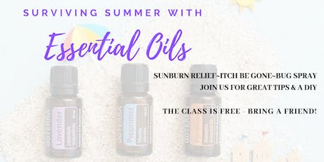 Summer Essential Oil Tips tickets