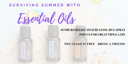 Summer Essential Oil Tips