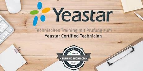 Yeastar, Zertifizierung IP-Telefonsystem (S-Serie) - Stuttgart Tickets