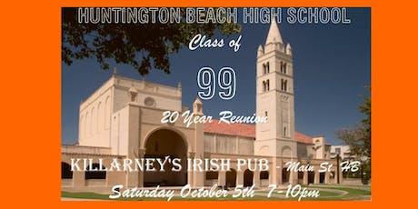 Huntington Beach High School Class of 1999 20 Year Reunion tickets
