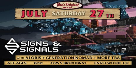 Signs and Signals at Moe's Original BBQ Englewood tickets