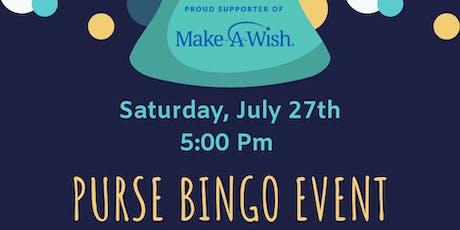 Charity Purse Bingo tickets